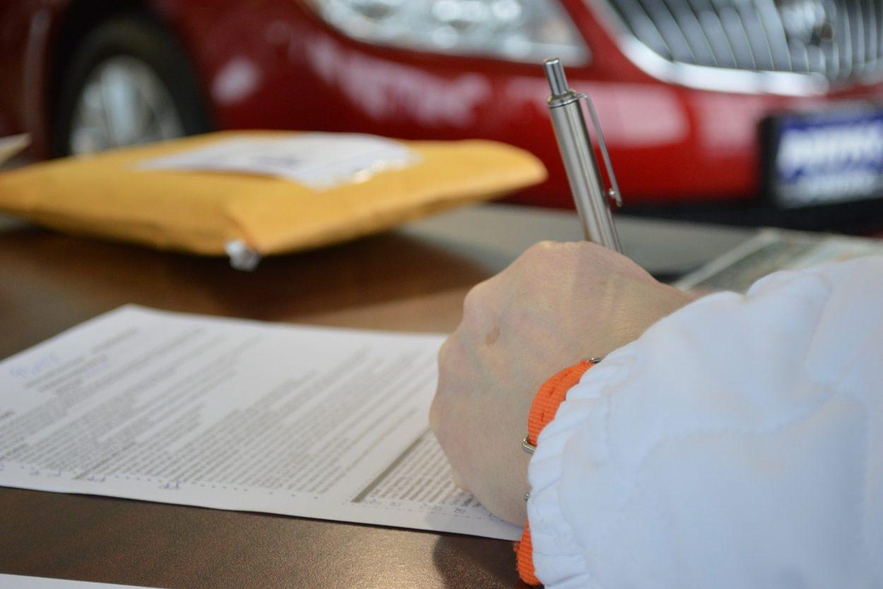 résiliation d'une assurance autto après une vente
