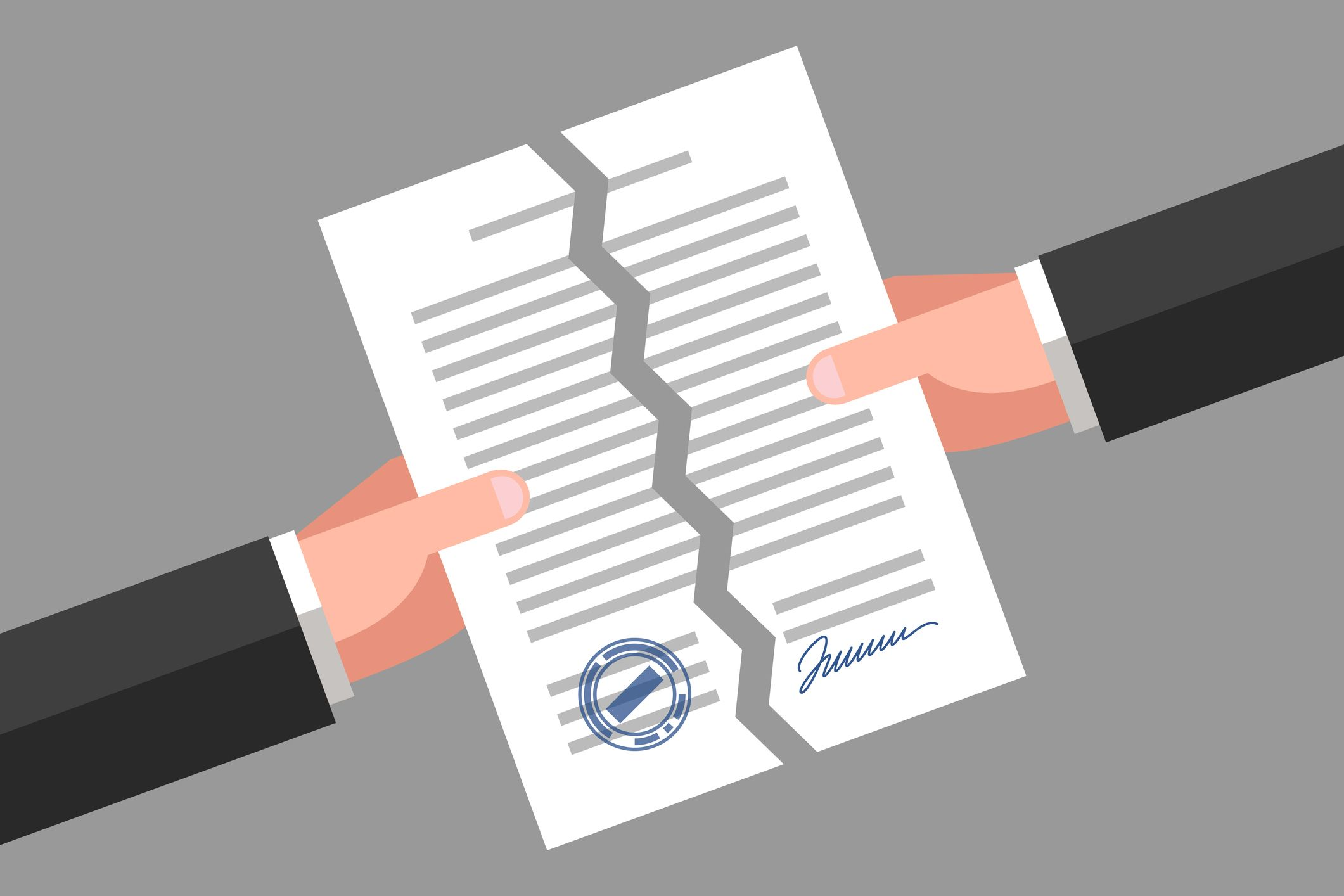 le délai d'une résiliation d'un contrat d'assurance auto